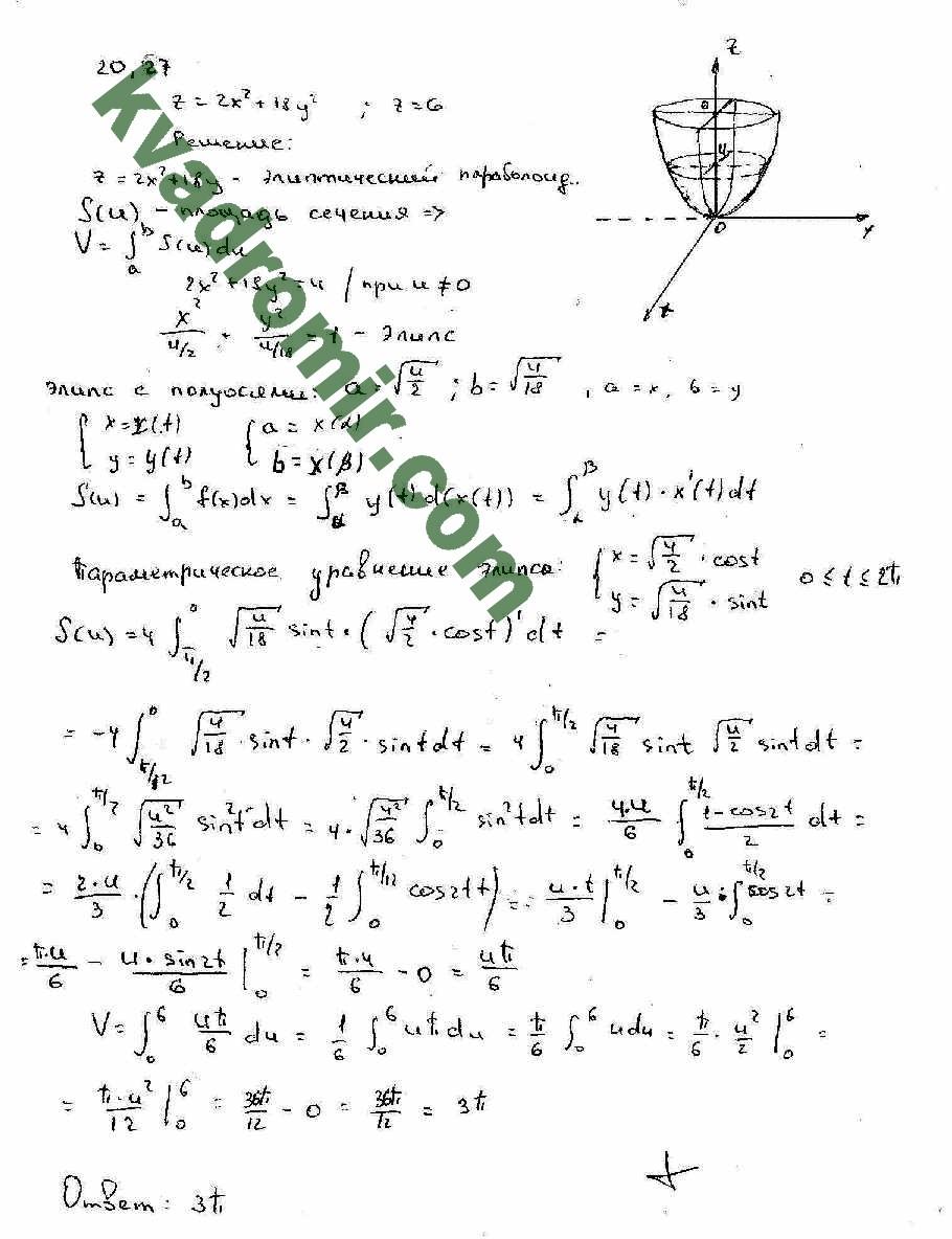 Решебник I Кузнецова Сборник Задач По Высшей Математике