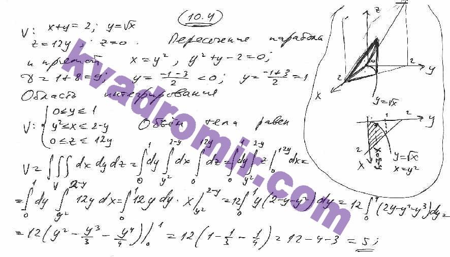 решебник задач кузнецова по высшей математике